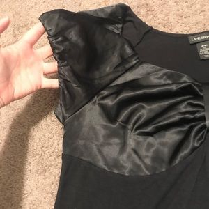 Lane Bryant Tops - Lane Bryant silk soft black blouse